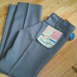 ed2f5cbb 31x32 NOS NWT Vtg 70's Mens WRANGLER Rancher Jeans